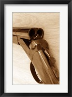 Framed Double Barrel Shotgun