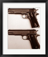 Framed M1911 and M1911A1 Pistols
