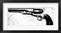 Framed Colt Navy Model 1861