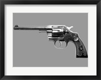 Framed Colt Official Police Gun, 1927