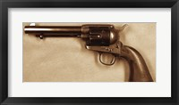 Framed Colt SAA US Artillery RAC