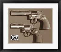 Framed Colt-Pythons