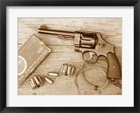 Framed M1917 Revolver