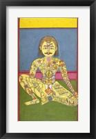 Framed Sapta Chakra, 1899