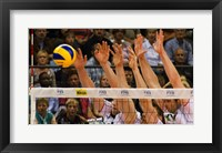 Framed Volleyball Block