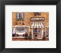 Vintage Baths Framed Print