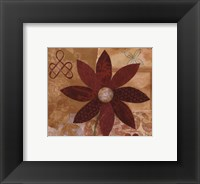 Contemporary Floral I Framed Print
