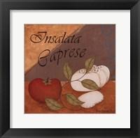 Insalata Caprese Framed Print