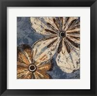 Framed Berkeley's Flowers II