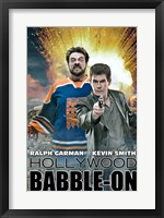 Framed Hollywood Babble-On