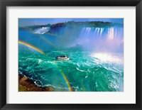 Framed Horseshoe Falls Niagara Falls Ontario, Canada