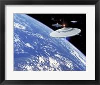 Framed UFO's