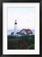 Framed Portland Head Lighthouse Cape And Field Elizabeth Maine USA