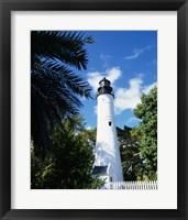 Framed Key West Lighthouse and Museum Key West Florida, USA