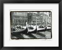 Framed Waterways of Venice X