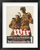 Framed National Socialist