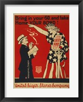 Framed Liberty Bonds