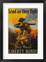 Framed Lend as They Fight Buy More Liberty Bonds