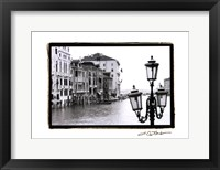 Waterways of Venic XI Framed Print