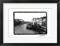 Framed Waterways of Venice XIII