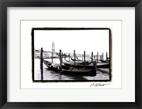 Framed Waterways of Venice XV