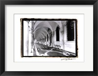 Framed Archways of Venice I