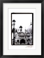 A Venetian Stroll V Framed Print