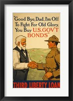 Framed Third Liberty Loan