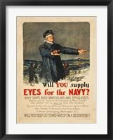 Framed Eyes for the Navy