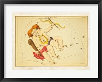 Gemini Zodiac Sign Framed Print