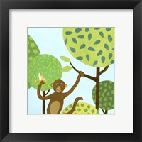 Jungle Fun I Framed Print