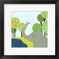 Jungle Fun II Framed Print