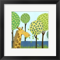 Jungle Fun III Framed Print