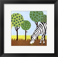 Jungle Fun IV Framed Print