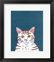 Pet Portraits III Framed Print
