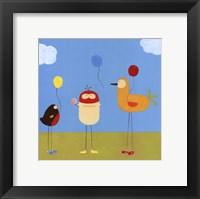 Framed Sunny Day Birds II