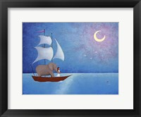 True North Framed Print