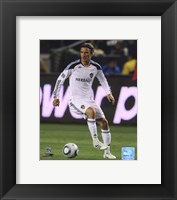 Framed David Beckham 2011 Action