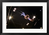 Framed Flying Redpaths Royal Hanneford Circus