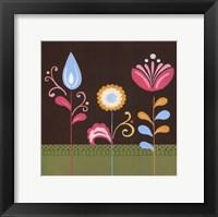 Framed Patchwork Garden IV