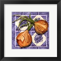 Framed Onion Tile