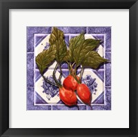 Framed Radishes Tile