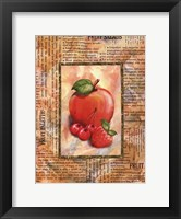 Framed Mixed Fruit I
