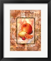 Framed Mixed Fruit II