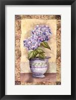 Spring Hydrangea Framed Print