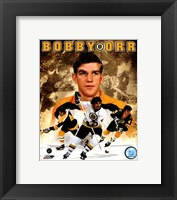 Framed Bobby Orr 2011 Portrait Plus