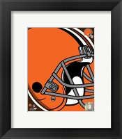 Framed Cleveland Browns 2011 Logo