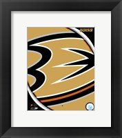 Framed Anaheim Ducks 2011 Team Logo
