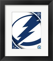 Framed Tampa Bay Lightning 2011 Team Logo