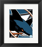 Framed San Jose Sharks 2011 Team Logo